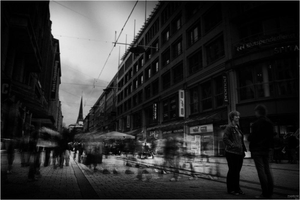 walking shadows II