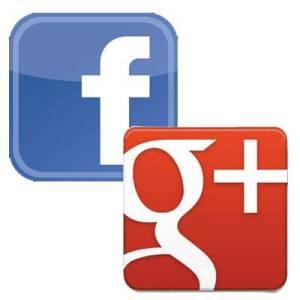 facebook-google-plus-logos