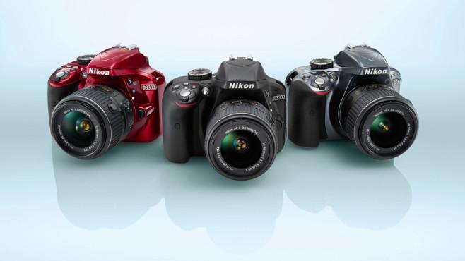 nikon-d3300-three-colors