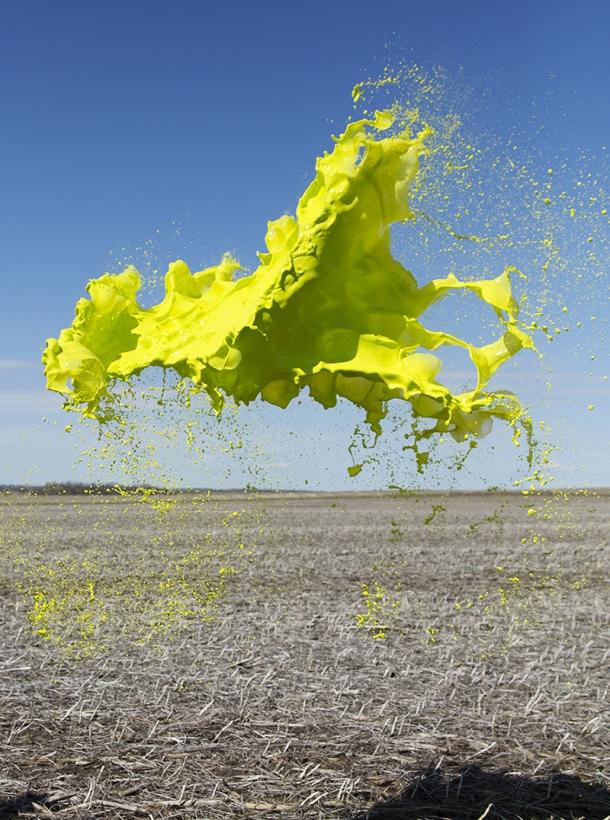 yellow cloud, © Floto+Warner
